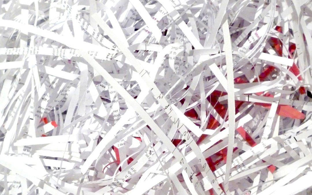 Why use secure document disposal services?