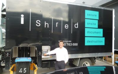 Knox Councillor Tony Holland Visits iShred's Community Shred Day
