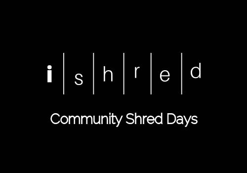 September Community Shred Days 2018
