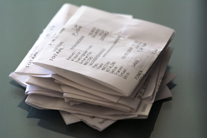 Apps that can be used to store receipts