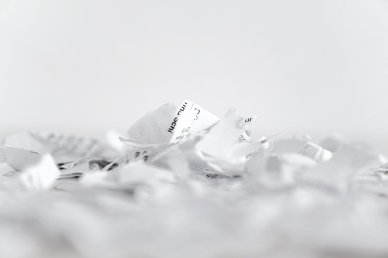 Paper Shredding for Individuals