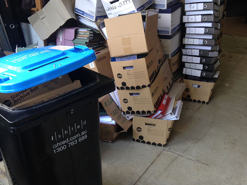 iShred - The Spring Clean has Started - Secure Document Destruction