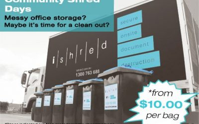 Paper Shredding Events for Work and Home
