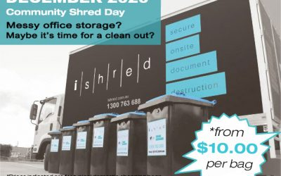2020 December Community Shred Day