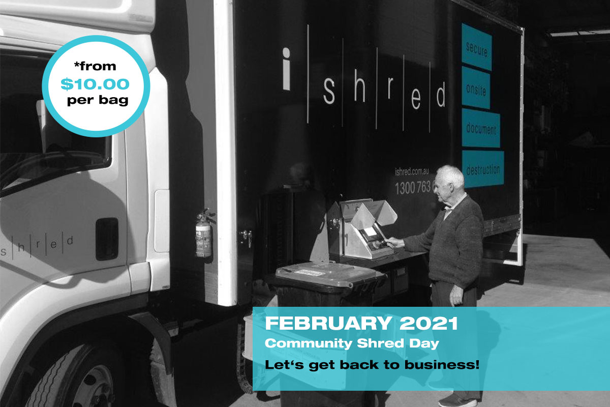 iShred - 2021 February Community Shred Day